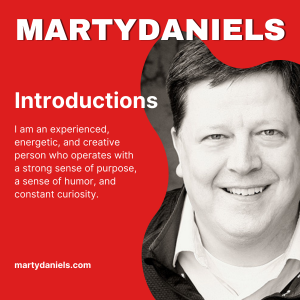 Marty Daniels. Job Search. Marketing, Advertising, Product Sales, Sales, Audio Production, On-Air, Voiceover, Podcasting, Podcast, Remote employment, Graphic Artist